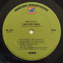 Load image into Gallery viewer, (parks, van dyke) | Van Dyke Parks [Song Cycle] W7 Green Label