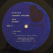 Load image into Gallery viewer, (williams, tony) | Anthony Williams [Spring] '70s Blue/Black Label