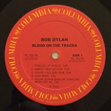 Load image into Gallery viewer, (dylan, bob) | Bob Dylan [Blood On The Tracks] US Original