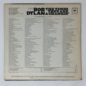 (dylan, bob) | Bob Dylan [The Times They Are A Changin'] US Mono Original