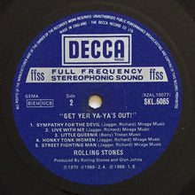 Load image into Gallery viewer, (rolling stones) | The Rolling Stones [Get Yer Ya-Ya's Out] UK Original