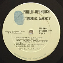 Load image into Gallery viewer, (upchurch, phillip) | Phillip Upchurch [Darkness, Darkness] US Original