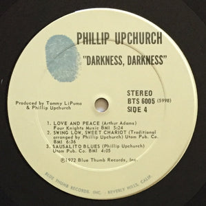 (upchurch, phillip) | Phillip Upchurch [Darkness, Darkness] US Original