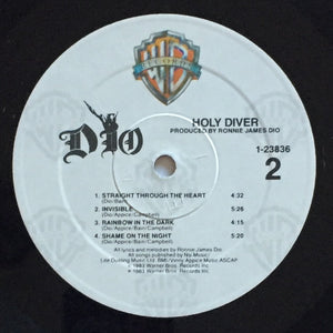 (dio) | Dio [Holy Diver] US Original