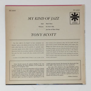 (scott, tony) | Tony Scott [My Kind Of Jazz] US Original