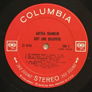 (franklin, aretha) | Aretha Franklin [Soft And Beautiful] Original Promo