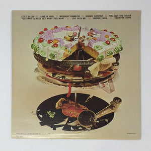 (rolling stones) | Rolling Stones [Let It Bleed] US Original w/ Poster