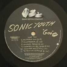 Load image into Gallery viewer, (sonic youth) | Sonic Youth [Goo] US Original
