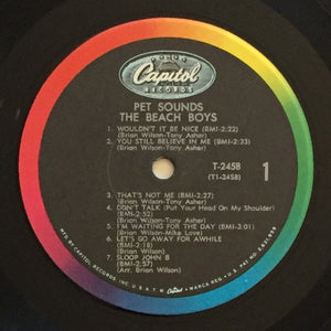 (beach boys) | The Beach Boys [Pet Sounds] US Mono Original
