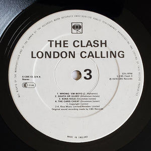 (clash) | The Clash [London Calling] UK Original