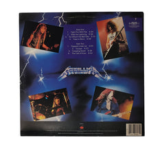 Load image into Gallery viewer, (metallica) | Metallica [Ride The Lightning] 1984 Elektra Press
