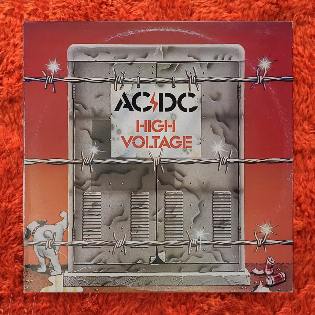(acdc) | AC/DC [High Voltage] 1977 Australian Press