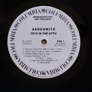 (aerosmith) | Aerosmith [Toys In The Attic] White Label Promo