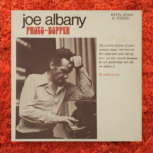 (albany, joe) | Joe Albany [Proto-Bopper] US Original