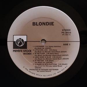 (blondie) | Blondie [Blondie] Private Stock Original