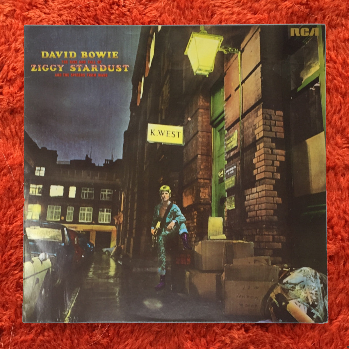 (bowie, david)   David Bowie [The Rise And Fall Of Ziggy Stardust And The  Spiders From Mars] '80s German Press
