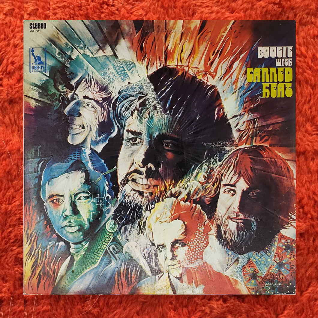 (canned heat) | Canned Heat [Boogie With Canned Heat] US Original
