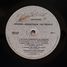 Load image into Gallery viewer, (moroder, giorgio) | Giorgio Moroder [Cat People - Original Soundtrack] US Backstreet Promo