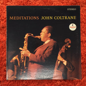 (coltrane, john) | John Coltrane [Meditations] Impulse Red & Black Label