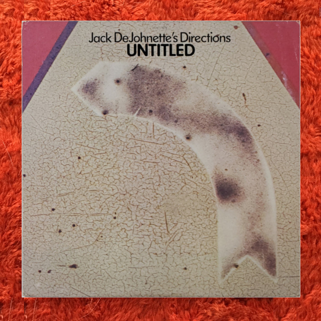 (dejohnette) | Jack DeJohnette's Directions [Untitled] White Label Promo