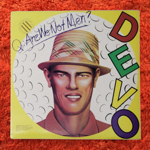 (devo) | Devo [Q: Are We Not Men? A: We Are Devo!] US Promo Original