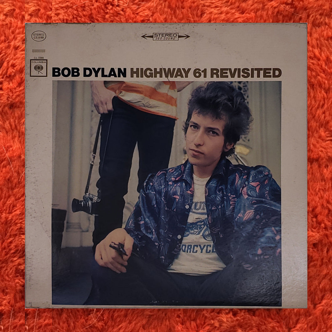 (dylan, bob) | Bob Dylan [Highway 61 Revisited] '67 Stereo Press