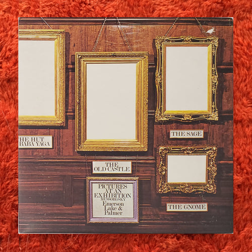 (emerson lake palmer) | Emerson Lake & Palmer [Pictures At An Exhibition] UK Original
