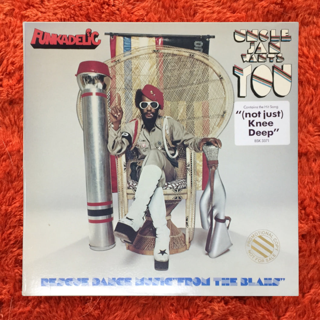 (funkadelic) | Funkadelic [Uncle Jam Wants You] US Promo Original