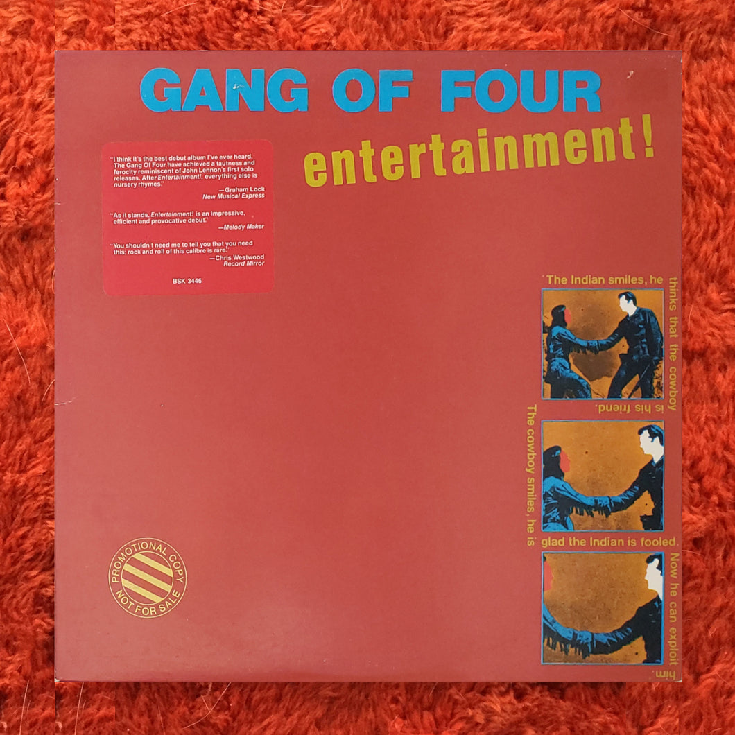 (gang of four) | Gang Of Four [Entertainment!] US Promo Original
