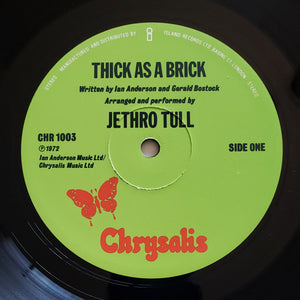 (jethro tull) | Jethro Tull [Thick As A Brick] UK Original