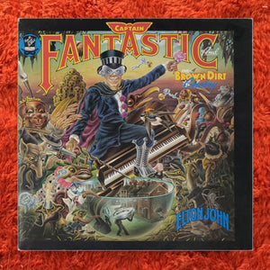 (john, elton) | Elton John [Captain Fantastic and the Brown Dirt Cowboy] Early UK Press