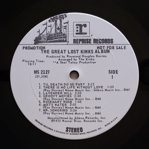 (kinks) | The Kinks [The Great Lost Kinks Album] White Label Promo