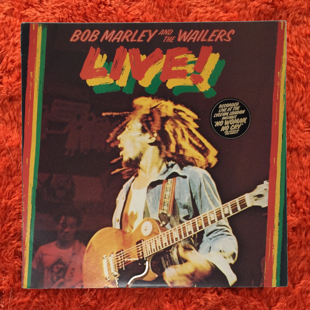 (marley, bob) | Bob Marley And The Wailers [Live] UK Original w/ Poster