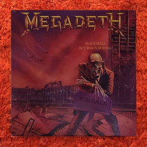 (megadeth) | Megadeth [Peace Sells... But Who's Buying] US Original