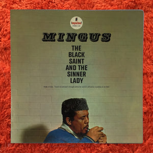 (mingus, charles) | Charles Mingus [The Black Saint And The Sinner Lady] Late '60s Red/Black Label