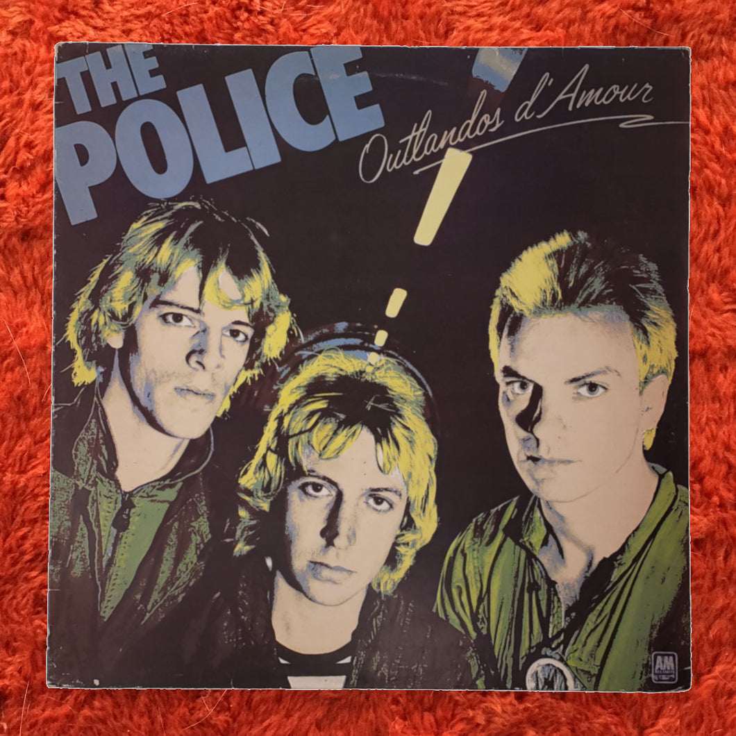 (police) | The Police [Outlandos d'Amour] UK Original