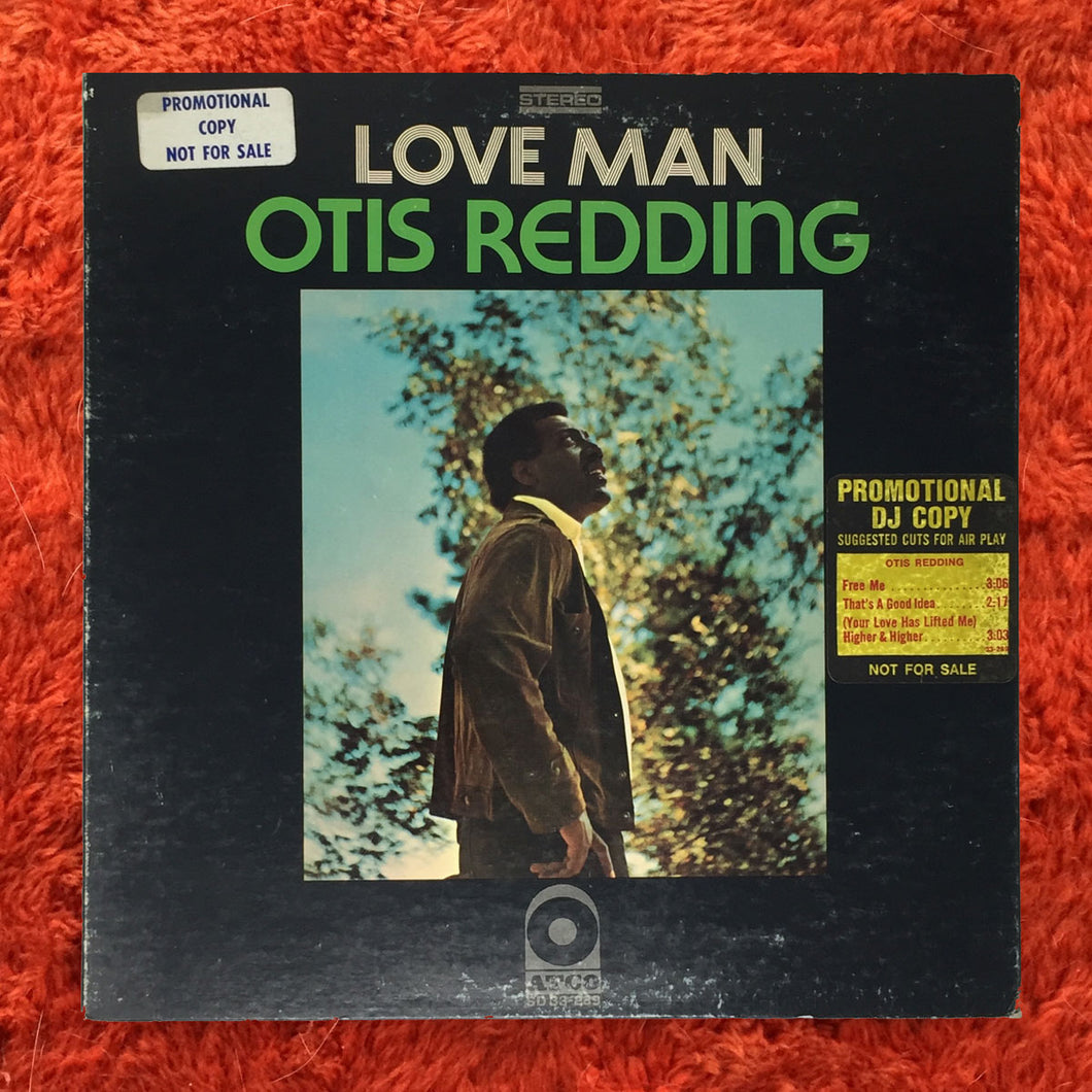(redding, otis) | Otis Redding [Love Man] White Label Promo