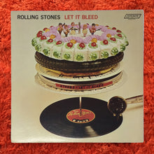 Load image into Gallery viewer, (rolling stones) | Rolling Stones [Let It Bleed] US Original w/ Poster