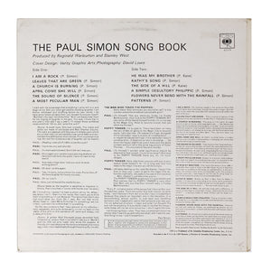 (simon, paul) | Paul Simon [The Paul Simon Song Book] UK Stereo Original