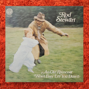 (stewart, rod) | Rod Stewart [An Old Raincoat Will Never Let You Down] 1973 UK Press