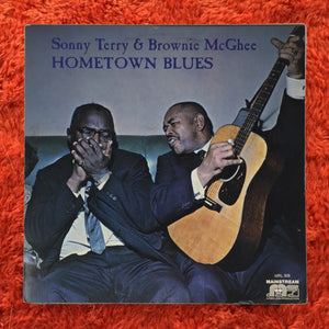 (terry, sonny) | Sonny Terry & Brownie McGhee [Home Town Blues] White Label Promo