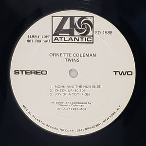 (coleman, ornette) | Ornette Coleman [Twins] Monarch White Label Promo