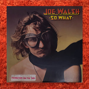 (walsh, Joe) | Joe Walsh [So What] White Label Promo