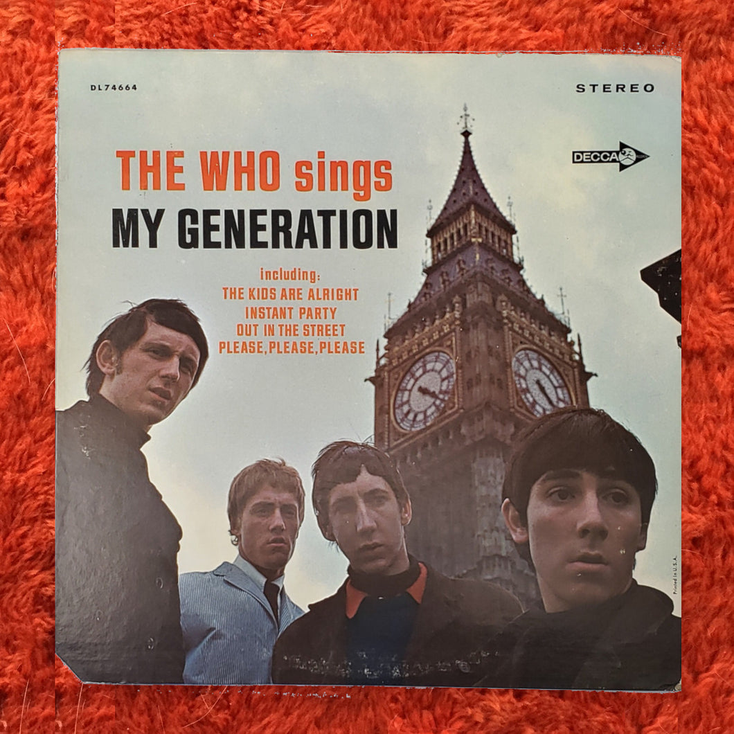 (who) | The Who [The Who Sings My Generation] US Mono Original