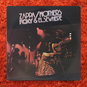 (zappa, frank) | Frank Zappa / Mothers Of Invention [Roxy and Elsewhere] US Original