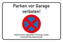 Laden Sie das Bild in den Galerie-Viewer, Parken vor Garage