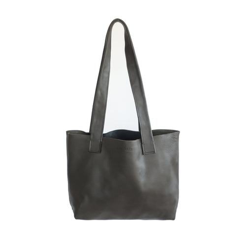 Olive Everyday Leather Tote