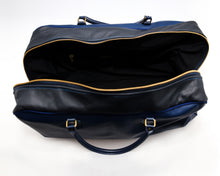 Load image into Gallery viewer, Nipsey Blue Overnight Leather Bag