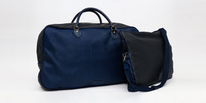 Nipsey Blue Leather Laptop Case