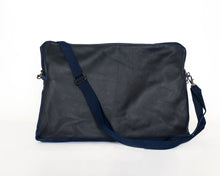 Load image into Gallery viewer, Nipsey Blue Leather Laptop Case